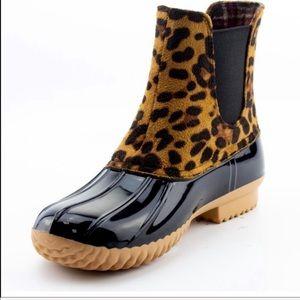 New Nature Breeze Leopard Duck Boot